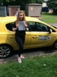 Leah passed with John Jervis Driving School