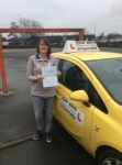 Fiona passed with John Jervis Driving School