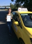 Georgie passed with John Jervis Driving School