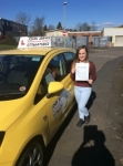 Hannah passed with John Jervis Driving School