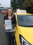 katie Clarke passed with John Jervis Driving School