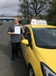 Lucy passed with John Jervis Driving School