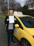 Matt passed with John Jervis Driving School