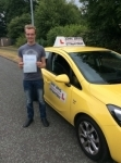 Nathan passed with John Jervis Driving School