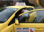 Richard Gough passed with John Jervis Driving School