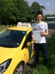 Richard passed with John Jervis Driving School