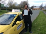 Thomas passed with John Jervis Driving School