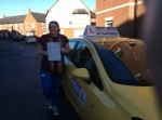 Anya passed with John Jervis Driving School