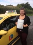 Jade passed with John Jervis Driving School