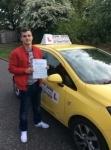 konrad passed with John Jervis Driving School