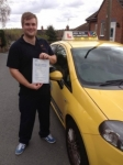Mickey passed with John Jervis Driving School