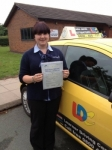 Sally passed with John Jervis Driving School