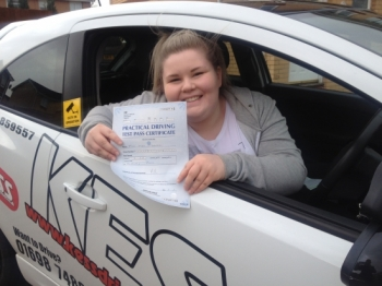 A massive thanks to Eamon at KESS driving school for helping me pass today with only 4 minors An absolutely fantastic driving instructorso patient and helps you to gain confidence Could not have done it without him<br /> <br /> Would highly recommend top notch