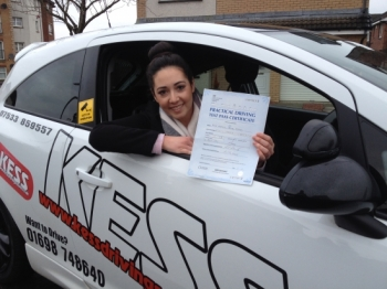 I passed first time thanks to Eamon who is a brilliant instructor I gained a lot of confidence and he made every driving lesson relaxing I would definitely recommend KESS driving