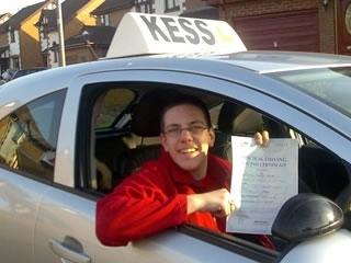 When I passed the driving test The result I got was good enough to pass an advanced driving test I would recommend KESS driving school to you