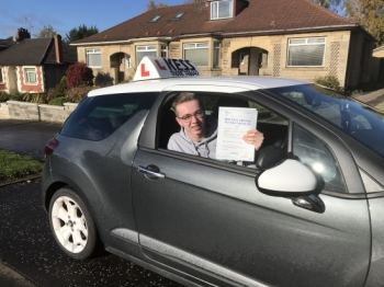 Hi Eamon was a fantastic instructor, he made the whole learning experience seem really easy.  My lessons were a very positive experience, I would highly recommend his driving school. Thanks again