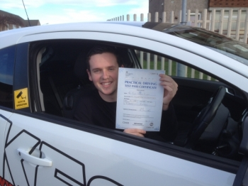 A massive thanks to Eamon for helping me to pass the driving test first time<br /> <br /> Eamon is an amazing instructor and really helped me gain confidence while driving and would highly would recommend him to everyone