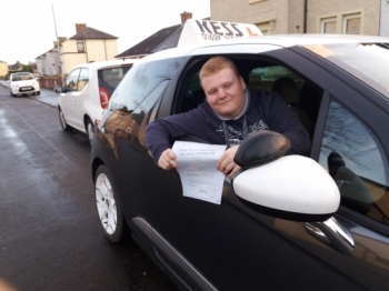 After taking lessons with a driving school from Coatbridge my confidence dropped friends recommended me to try KESS after a couple of lessons my confidence was good and now Ivacute;e passed first time<br /> <br /> Thanks to Eamon at kess driving
