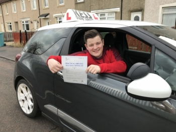 I passed my practical test on my first attempt and I'm extremely grateful to Eamon my instructor who explained driving in easy to understand