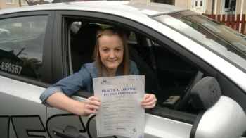 Susie did a really good drive and easily deserved to pass first time