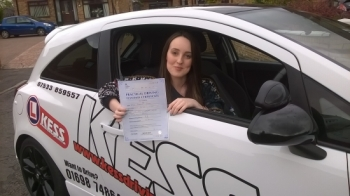 Had a great drive and passed first timeEamon was a fantastic teachervery patient and made driving simple and enjoyable I will definitely be recommending KESS to friends and family