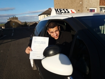 I passed my test with the confidence in my ability to drive anywhere I want to thank Eamon my supportive and encouraging driving instructor who provided thorough lessons that were always positive and enjoyable Thank you again