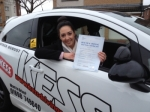Antonia Molloy....Motherwell passed with KESS Driving