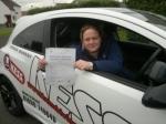 Karen  Hume....Bellshill passed with KESS Driving