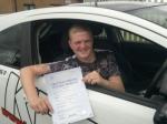 Jordan Clark....Motherwell passed with KESS Driving