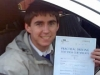 Michael Patton....Mossend passed with KESS Driving