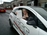 Melissa Clarke....Newarthill passed with KESS Driving