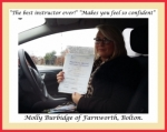 Molly Burbidge of Bolton. passed with Keys to Freedom Driving School Bolton