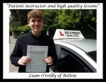 Liam O'reilly passed with Keys to Freedom Driving School Bolton
