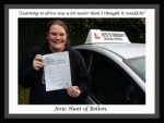 Josie Hunt of Bolton. passed with Keys to Freedom Driving School Bolton