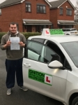 Luke Speakman passed with Kiran's Driving School
