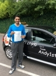 Mohsen passed with Kiran's Driving School