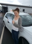 Jodie passed with Kiran's Driving School
