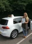 Natasha passed with Kiran's Driving School