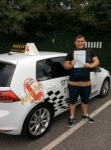 Dominic passed with Kiran's Driving School