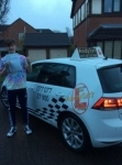 Sam passed with Kiran's Driving School