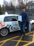 Florian passed with Kiran's Driving School