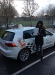Hani passed with Kiran's Driving School