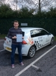 Daniel passed with Kiran's Driving School