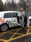 Andy passed with Kiran's Driving School