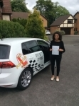 Chloe passed with Kiran's Driving School