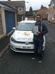 Parimal passed with Kiran's Driving School