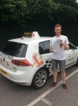 Aaron  passed with Kiran's Driving School