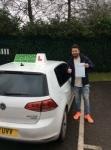 Darren passed with Kiran's Driving School