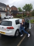 Holly passed with Kiran's Driving School