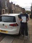 Dhamu passed with Kiran's Driving School